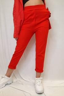 Pantalon lino liso -