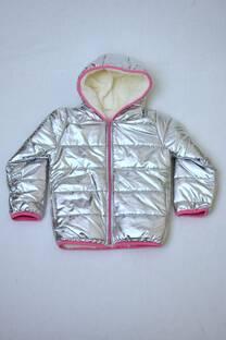 campera inflable de abrigo  niña forrada con corderito  -