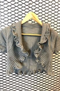 BOLERO sweater lycra frucido -