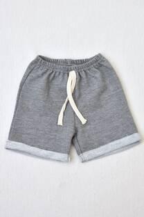 shorts de algodón rústico línea bebé  -