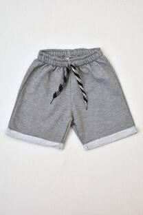 shorts de algodón rústico varón -