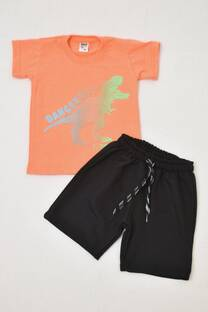 Promo pack remera niño + short rústico  -