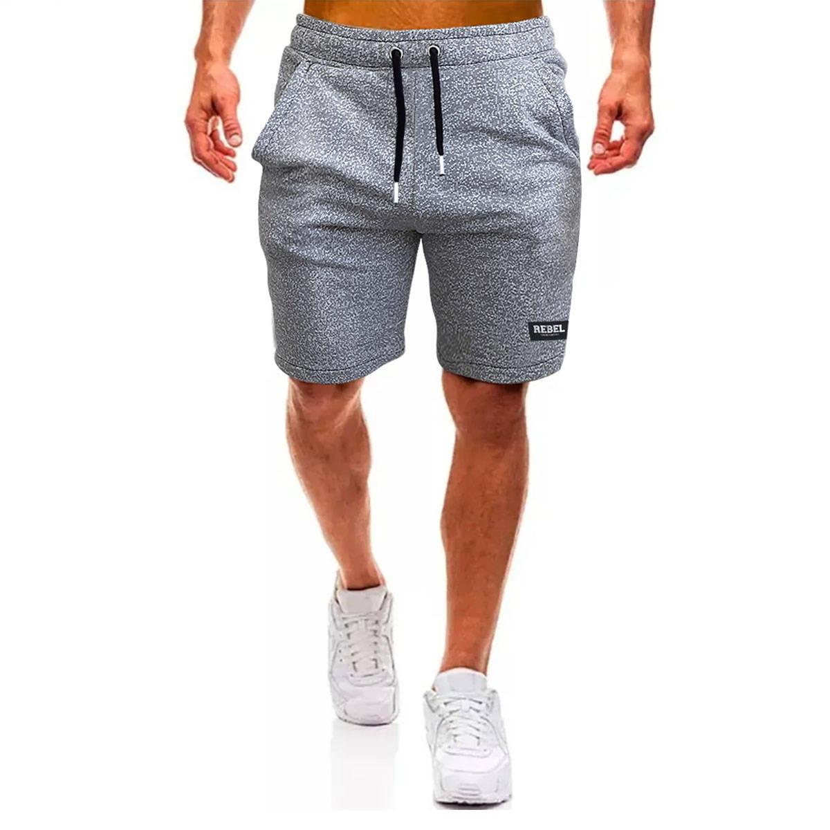 Shorts Bermuda De Hombre Deportivo Gimnasio Corto Jogging Distrito Moda