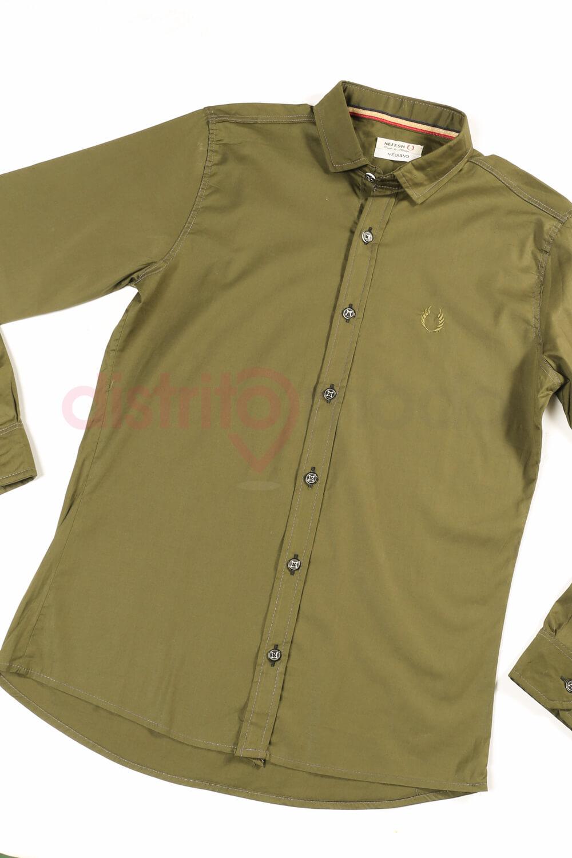 Imagen producto Camisa lisa entallada 4