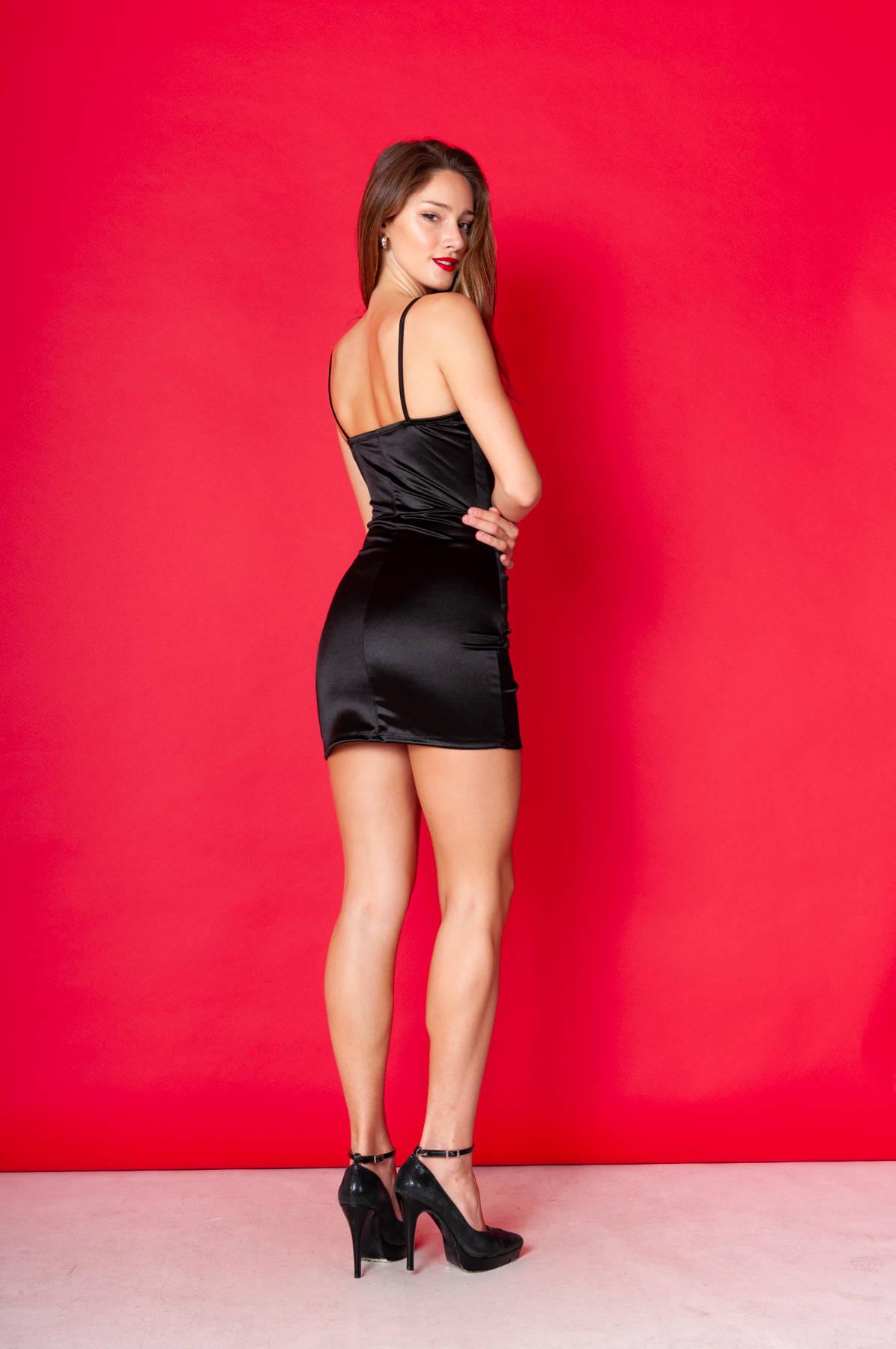 Imagen carrousel Vestido Satin♥ 1