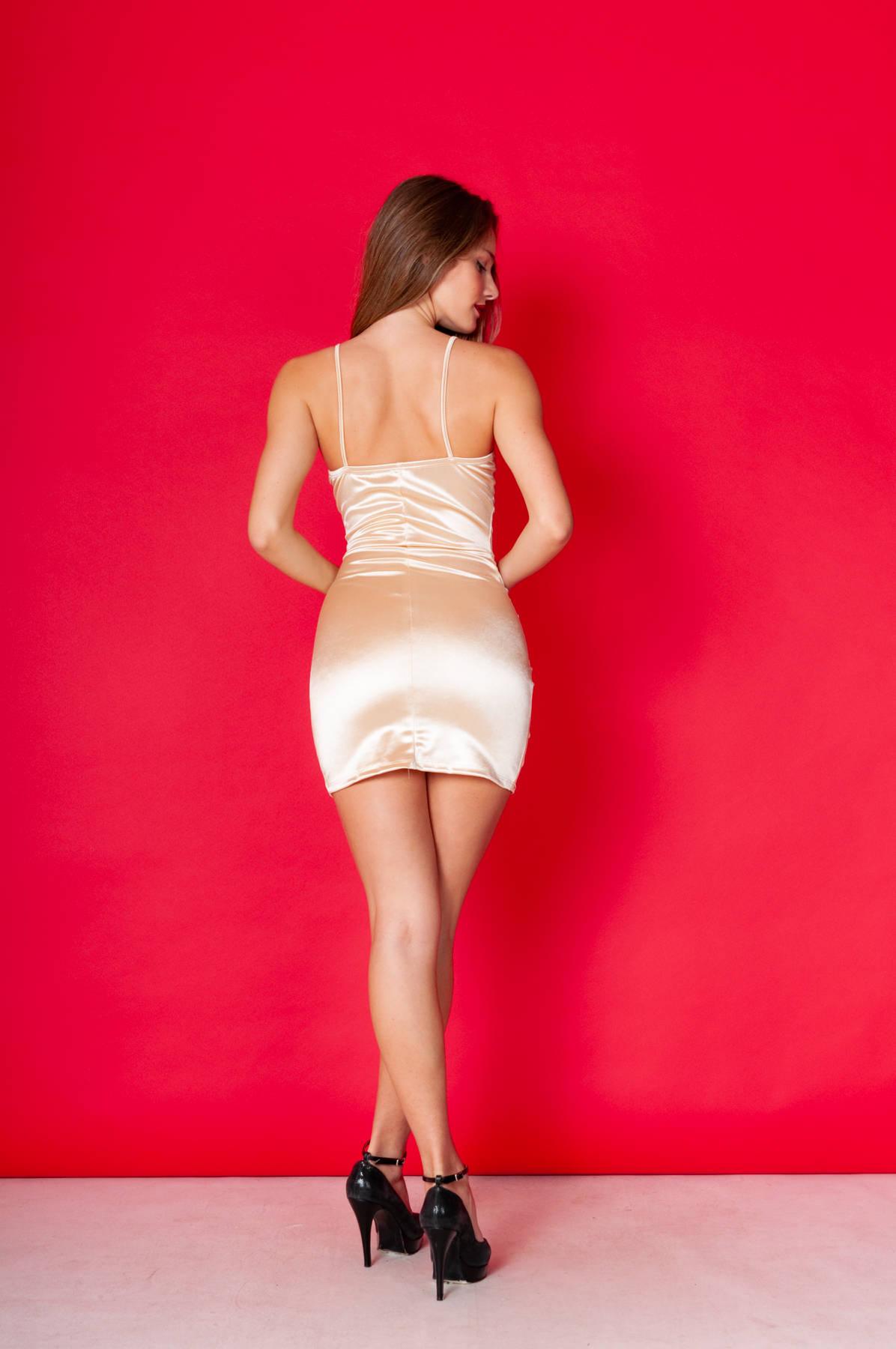 Imagen carrousel Vestido Satin♥ 3