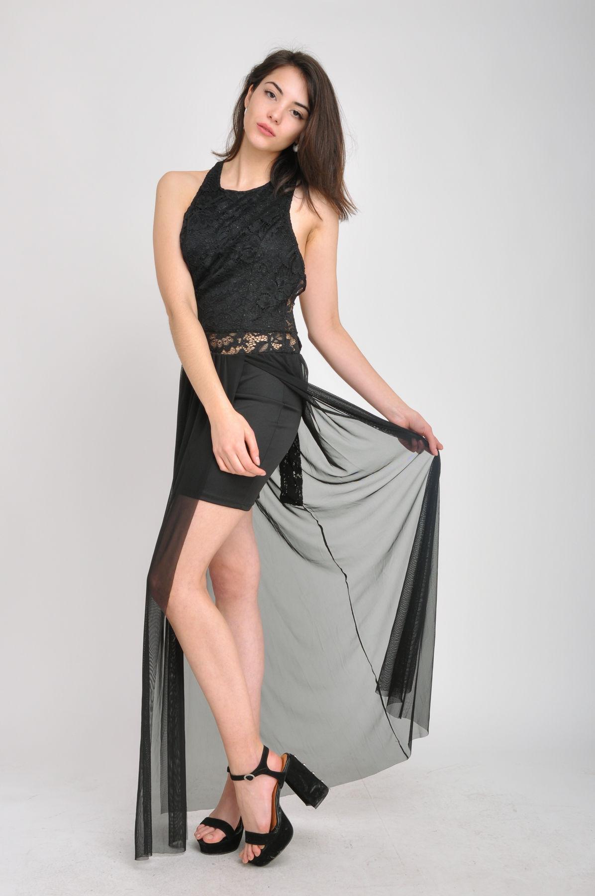 Imagen producto Vestido encaje Lurex  7