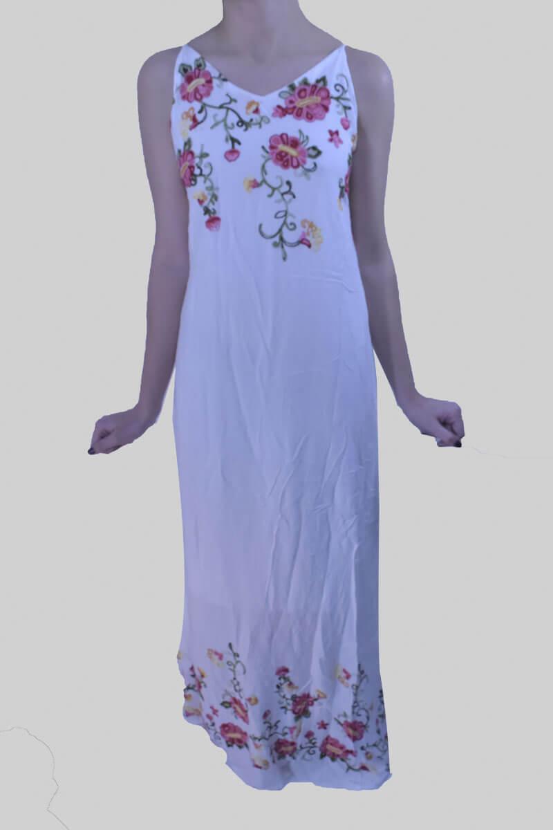 Imagen producto Vestido Bordado Floreado 7