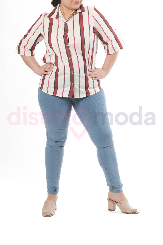 Imagen carrousel Camisa Lino Rayado 1
