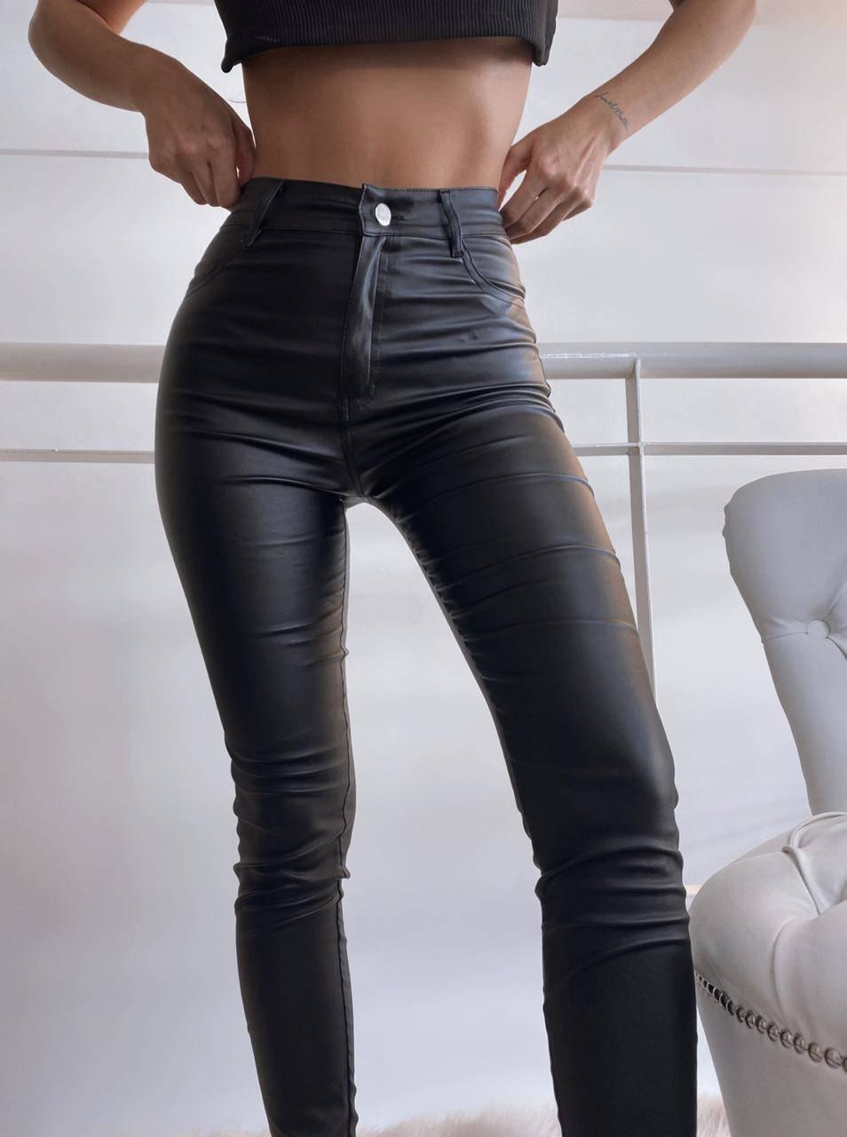 Pantalon Bengalina Engomada Distrito Moda